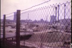 1971 Stadion mit Gaskessel im Hintergrund